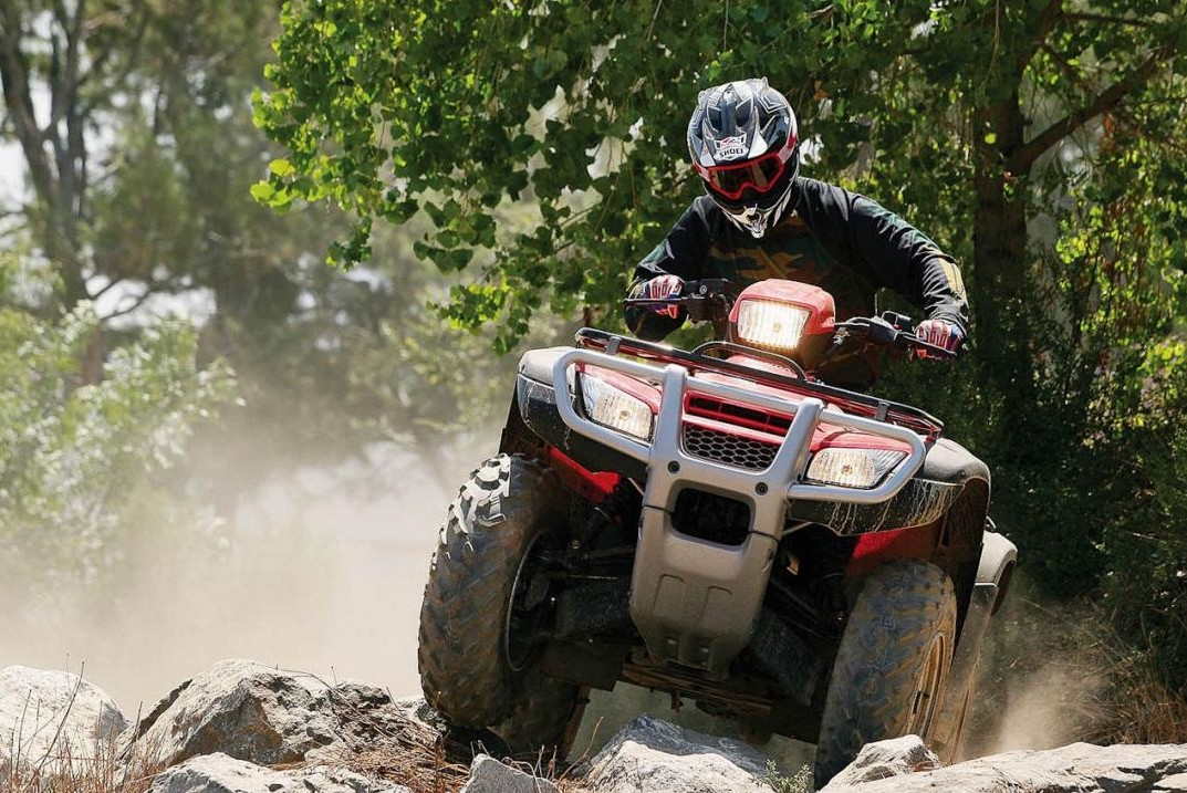 Off Road ATV Four Wheeler Jungle