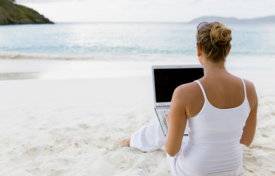 Guest Blogger - Blogging form Paradise
