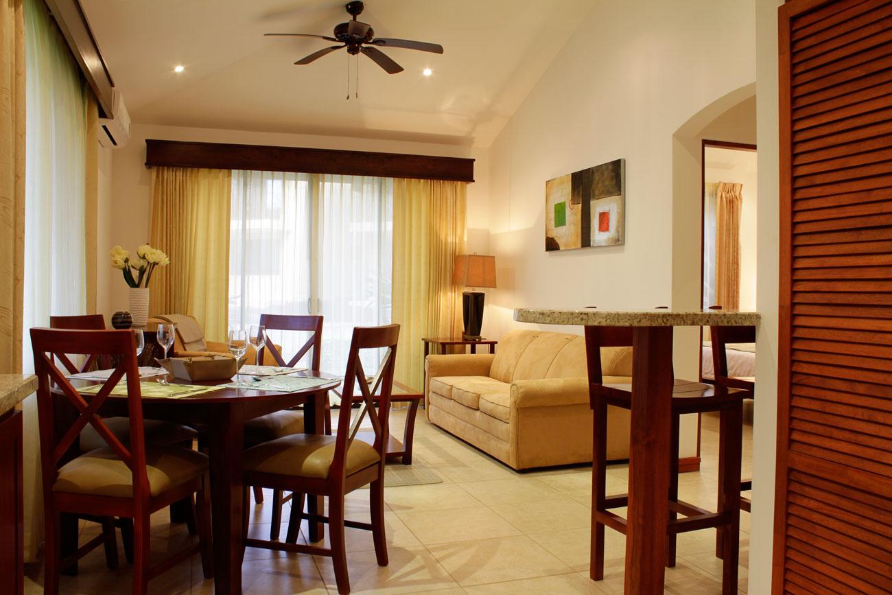 Dining area 2 bedroom condo vista ocotal costa rica for Dining area pictures