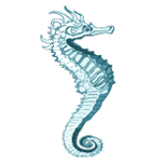 vista ocotal sea horse icon