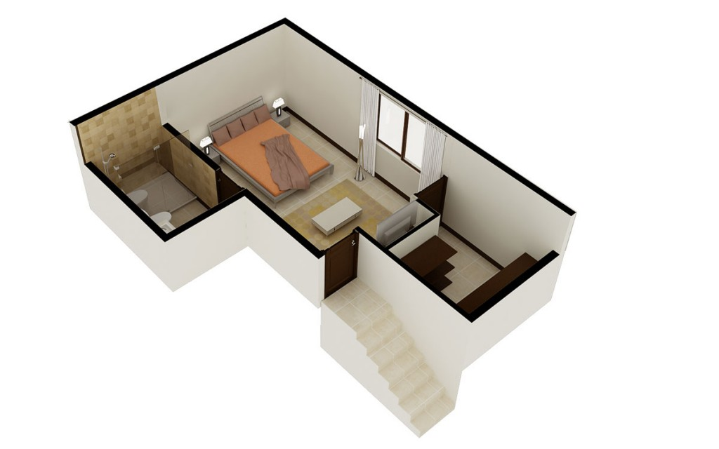 Floor Plan 3 Bedroom Second Floor
